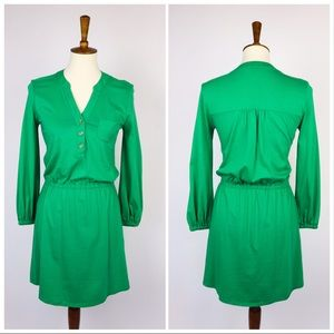 Lily Pulitzer Green Dress Long Sleeved XS